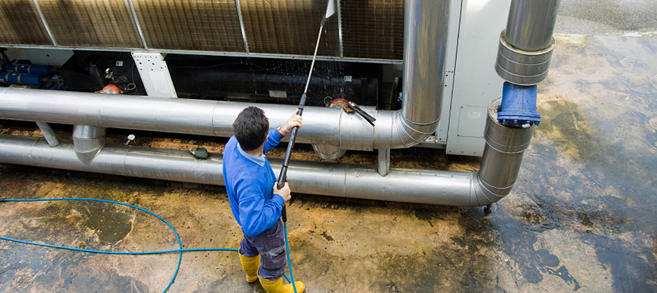 Industrial site cleaning | Recubec